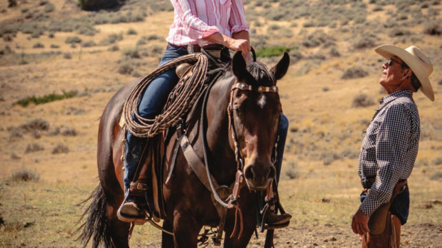 Charley Snell helps horses and riders at weekend clinic