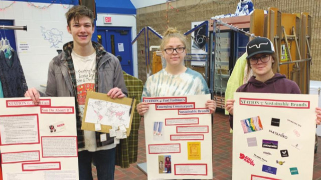 Students host clothes swap at High School