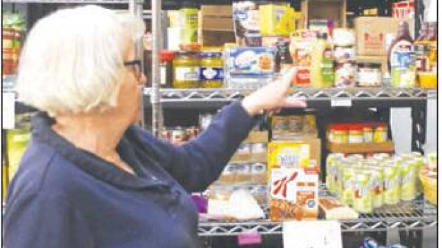 Food bank gathers tons of food and funds during annual drive